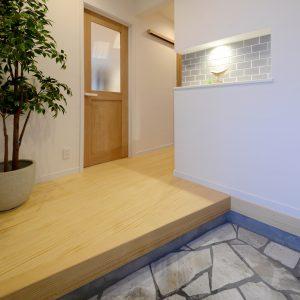 コアハウス 富士久沢モデルハウス 玄関