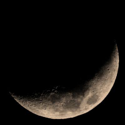 12月13日 上弦の月